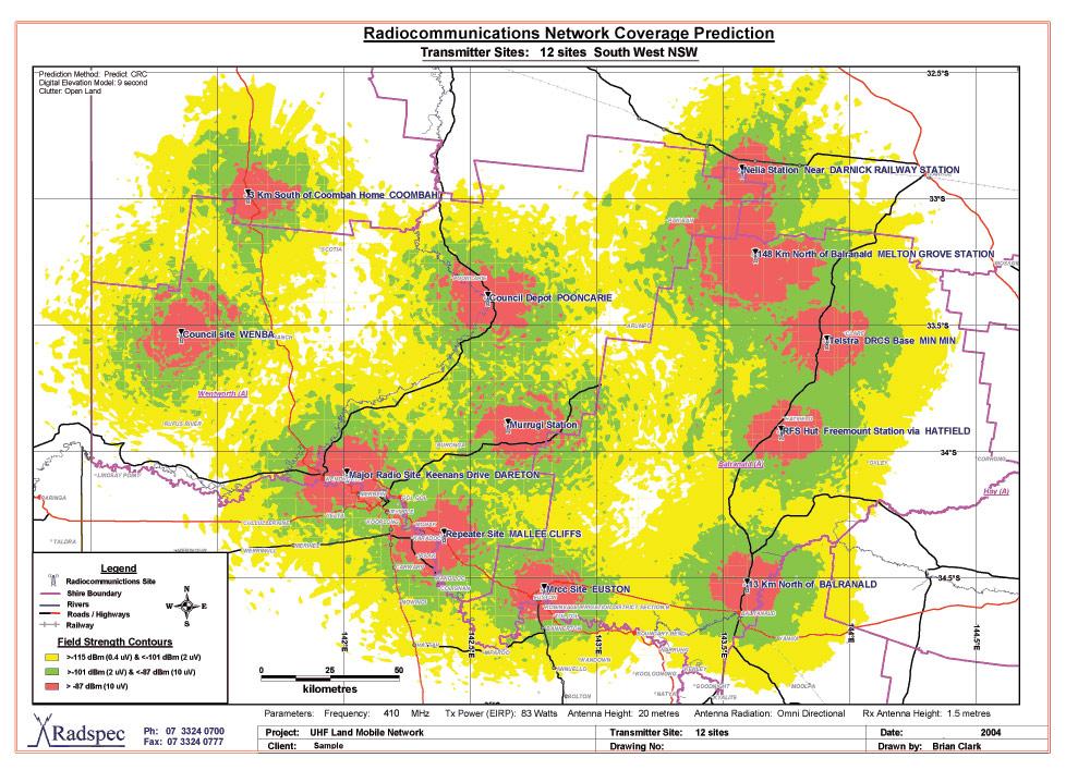 Radspec Consultants - Services - RF Coverage Analysis